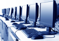 Computer Lab Stock Images