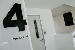 Computer Lab 4 Stock Photo