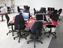 Computer lab Royalty Free Stock Images