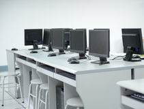 Computer lab Stock Image