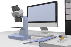 Computer Laboratory Stock Images