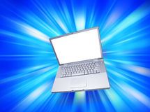 Computer Laptop Blank Royalty Free Stock Photography