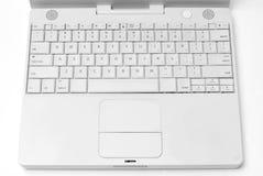 Computer  Laptop keyboard. A White computer  Laptop keyboard Stock Image