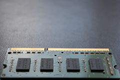Computer Laptop PC Memory RAM DDR royalty free stock photos