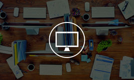 Computer Laptop Technology Digital Device Concept Stock Photo