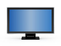Computer LCD monitor. Isolated on white background vector illustration