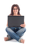 Computer Leisure Stock Photography