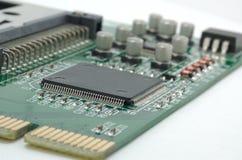 Computer-Leiterplatte Stockfoto