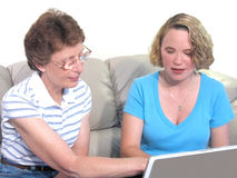 Computer Lesson Stock Photography