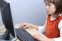 Computer literacy Royalty Free Stock Images