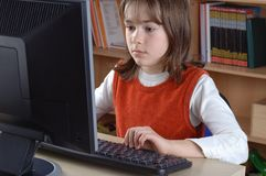 Computer literacy Stock Images