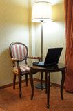 Computer-Möbel Stockfoto