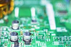 Computer in macro 20 Stock Afbeelding