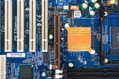 Computer main board Stock Photo