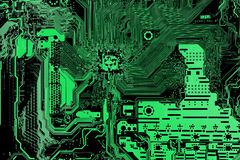 Computer main board background Stock Photos