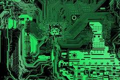 Computer main board background Stock Photos