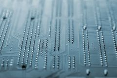 Computer main plate Royalty Free Stock Images