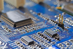 Computer Mainboard Stock Photo