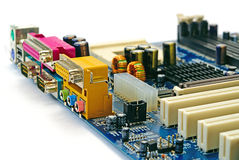 Computer mainboard Stock Image