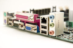 Computer mainboard Royalty Free Stock Image