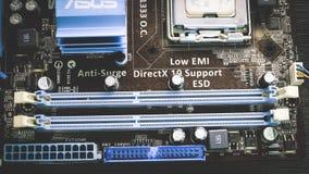 Computer Mainboard royalty-vrije stock foto's