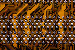 Computer mainboard Royalty Free Stock Photography