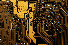Computer mainboard Stock Images