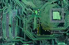 Computer mainboard Royalty Free Stock Photos