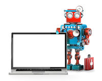 Computer maintenance concept. isolated. Contains clipping path. Computer maintenance concept. isolated over white. Contains clipping path Stock Photography