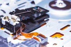 Computer in Makro 25 Stockbild