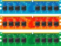 Computer memory Stock Photo