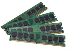 Computer memory Royalty Free Stock Photos