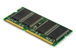 Computer memory board Stock Images