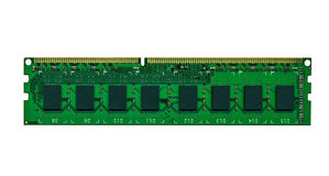 Computer memory board royalty free stock image
