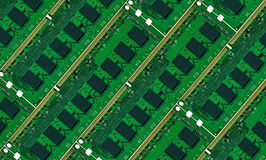 Computer memory boards.Background stock images