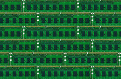 Computer memory boards Royalty Free Stock Photography