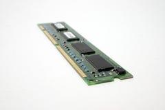 Computer memory chip. Stock Photos