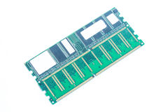 Computer memory chip, Ram Stock Images