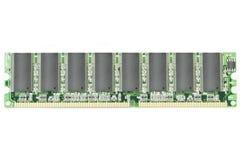 Computer memory II. Computer memory module royalty free stock image