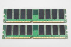 Computer memory isolated Royalty Free Stock Photos