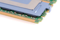 Computer memory modules Royalty Free Stock Photo