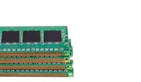 Computer memory PC. On white background isolation royalty free stock photo