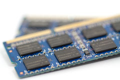 Computer memory ram Royalty Free Stock Photo