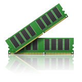 Computer memory Royalty Free Stock Photography