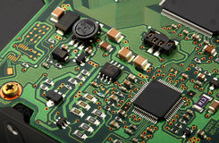 Computer micro circuit board Stock Photography