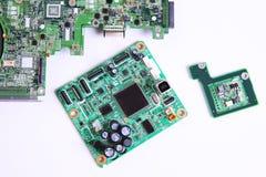 computer micro circuit board Stock Photo
