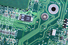 Computer micro circuit board Royalty Free Stock Photography
