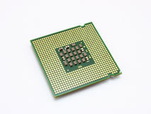 Computer micro processor Royalty Free Stock Image