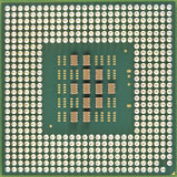 Computer micro processor Stock Photography