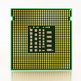 Computer microprocessor Royalty Free Stock Images